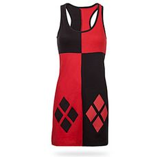 If I have a lady guest who's willing to dress up at Harley Quinn, this is a great costume option! $25 at Think Geek