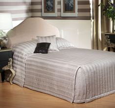 The Inverness Bedspread Range Stone comes with an elegant design, polyester and cotton front, polyester fill and polyester reverse. Dark Colors, Colours, Beautiful Bedding Sets, Inverness, Bed Spreads, Luxury Bedding, Cleanses, Warm, Stone