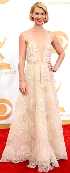 Remember when Claire Danes looked beyond gorgeous at the 2013 Emmy Awards? Prepare yourself for tonight's red carpet by revisiting last year's best looks!