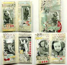 .:Art - Piaskownica:.: Recykling #9 Anity-stara książka