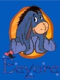 Eeyore Cute Winnie The Pooh, Winne The Pooh, Winnie The Pooh Quotes, Winnie The Pooh Friends, Mickey And Friends, Pooh Bear, Tigger, Eeyore Tattoo, Eeyore Pictures