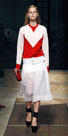 CÉLINE ready to wear collection Summer 2012 look n°22