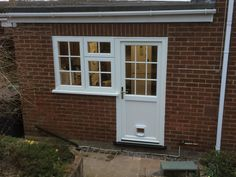 Storm 2 Window and Back Door - a more traditional look for a modern home.