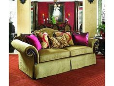 Shop for Fine Furniture Design Viniterra Sofa With Seven Accent Pillows, and other Living Room Two Cushion Sofas at Goods Home Furnishings in North Carolina. Furniture Styles, Fine Furniture, Cheap Furniture, Sofa Furniture, Furniture Design, Furniture Online, Living Room Sofa, Living Room Furniture, Living Rooms