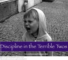 Discipline in the Terrible Twos: It's so much more than just time outs! How to use positive parenting most of the time, and that reduces the need for a lot of the typical discipline techniques.
