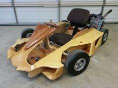 Wooden Go Kart, E Quad, Electric Go Kart, Wood Cart, Go Kart Racing, 3d Cnc, Go Car, Balance Bike, Karting