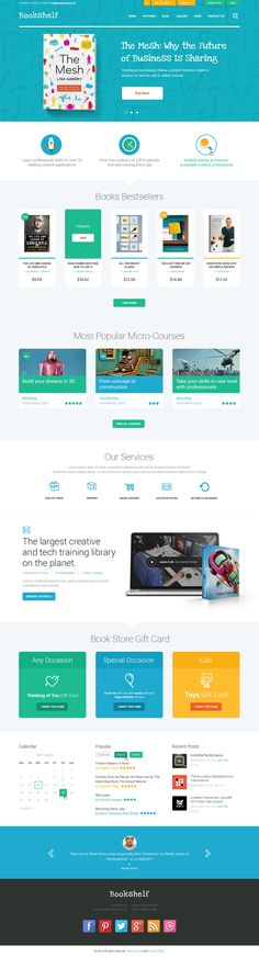 BookShelf | Books & Media Online Store is a premium WordPress theme that will be a splendid solution for your future online bookstore