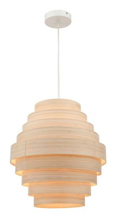 Zuma 1 pendant in natural by Mercator