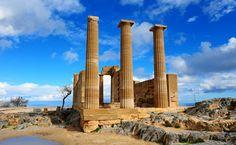 GREECE CHANNEL   #Lindos - #Rhodes, #Greece