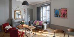 L'appartement trendy d'une décoratrice lyonnaise
