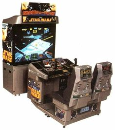 Star Wars Dual Seat Arcade for those Han & Chewie moments Arcade Game Room, Arcade Games, Arcade Console, Generation Game, 80s Video Games, Arcade Machine, The Force Is Strong, The Empire Strikes Back, Star Wars Rebels