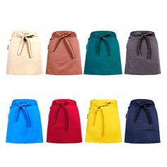 Restaurant Uniforms One Pocket Short Waist Apron – AUD $ 12.03
