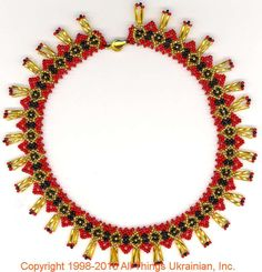 Gherdany Bead Jewelry # GN16151 on AllThingsUkrainian.com