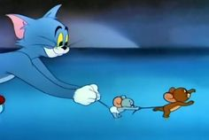Tom And Jerry Gif, Tom And Jerry Memes, Tom And Jerry Cartoon, Funny Minion Memes, Cartoon Memes, Funny Cartoons, Vintage Cartoon, Cute Cartoon, Cutest Cats Ever