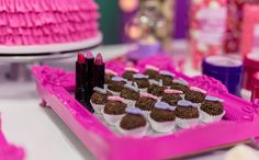 Festa infantil com tema de maquiagem no 'Fazendo a Festa' - Fazendo a Festa - GNT