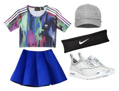 """""""Untitled #2"""" by maghfirah-ap on Polyvore featuring adidas and NIKE"""
