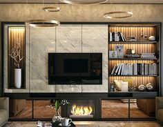 [New] The Best Home Decor (with Pictures) These are the 10 best home decor today. According to home decor experts, the 10 all-time best home decor. Living Room Tv Unit Designs, Interior Design Living Room, Modern Interior, Living Room Decor, Living Rooms, Luxury Interior, Tv Wand Modern, Tv Wall Design, House Design