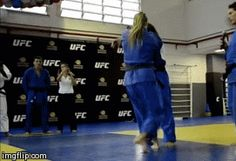 The History of Fighting — juji-gatame: Ronda Rousey Throws World Judo...