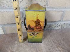 A1 Cow Image Biscuit Tin c1905