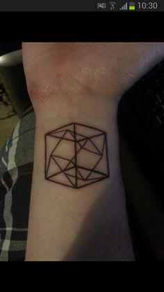 TesseracT tattoo done by Rich - Ravenskin -Isle of Wight UK - Imgur