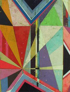 Jason Rohlf, Transistions, Acrylic on linen