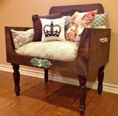 Distressed Luxury Pet Bed, Shabby Chic Pet Bed, Cat Bed, Dog Bed, Lounger, Cat, Dog, Pet, Bed