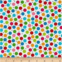 Must Love Dogs Dots & Hearts White
