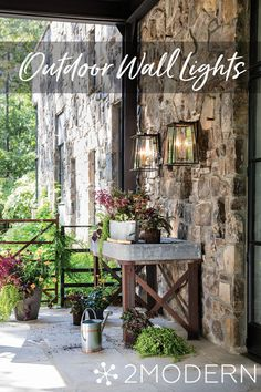 Browse Outdoor Wall Lights at 2Modern. Peruse wall lights by top brands including Hinkley, Hubbardton Forge, Artemide, TECH Lighting, Modern Forms & more. Shop Now!