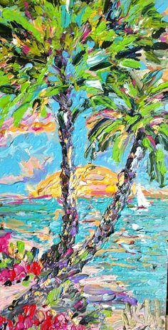 Noel Skiba Impressionistic Paintings Acrylic Oil & Water Color ...