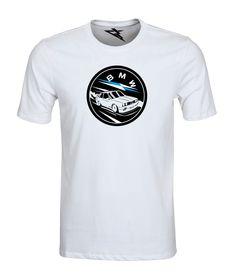 Koszulka dla fanów motoryzacji.  T-shirt BMW E30 RACER