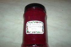Das perfekte rote Johannisbeer-Marmelade-Rezept mit Bild und einfacher Schritt-für-Schritt-Anleitung: Marmeladengläser mit kochend heißem Wasser…