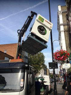 Another PERC dry cleaning machine off to recycling.. Eco Friendly garment care is the future.. https://www.facebook.com/UnitSteam