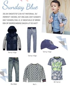 Sunday Blue | kleertjes.com #kinderkleding #babykleding #kids