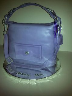 hobo bag cakes   Coach Courtenay Hobo Bag Purse Cake....