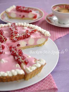 johannisbeer-tarte/Red Currant Tart....English translation button on page