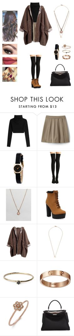 MONSTA X - fighter by kyndraxsvt ❤ liked on Polyvore featuring Valentino, Lands End, Marc by Marc Jacobs, Ted Baker, Shaun Leane, Satomi Kawakita, Cartier, blanca monrós gómez and Fendi