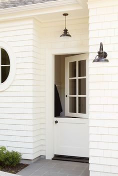 For back of house breezeway addition…..  classic-white-siding-black-shutters-dutch-door-san-francisco.jpg 525×787 pixels