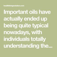 Important oils have actually ended up being quite typical nowadays, with individuals totally understanding their real capacity recently. They are utilized in various methods and for various functions– for instance, many individuals utilize them to make effective homemade hair shampoos that can deal with anything from dandruff to loss of hair.Loss of hair is…