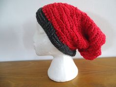 Ravelry: Wave Stitch Slouch Hat pattern by Meladoras Creations