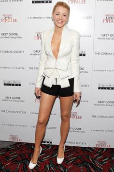 Blake Lively...  Legs & Heels and...   November 15, 2009 -- pinned using BrowserBliss