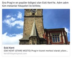 Prag, Eski Kent gezi rehberi.
