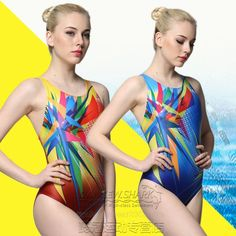 Yingfa 2016 Womens Competition Training Racing Swimsuit One Piece 963