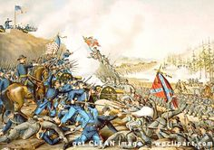 franklin tennessee | Battle of Franklin TN - public domain clip art image @ wpclipart.com