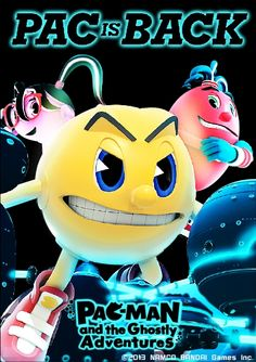 Namco Bandaihas announced that Pac-Man and the Ghostly Adventuresfor the Nintendo 3DS has moved up its launch date to November 5th, 2013.