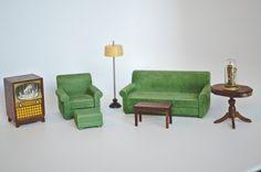 Vintage Strombecker doll furniture