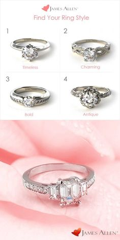 Design Your Own Engagement Ring With James Allen!