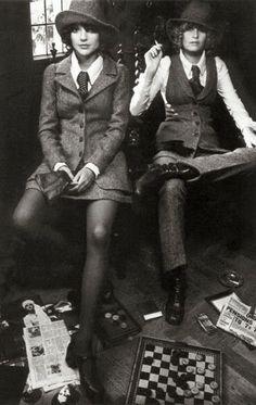 Biba does tweeds, 1960s