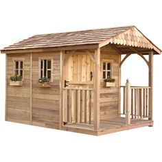 Superb Outdoor Living Today Santa Rosa 8 Ft. W X 12 Ft. D Wood Storage