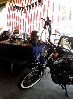 boys motorcycle birthday party motorcycle