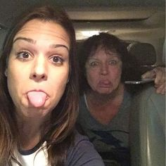 My mom and sister are just the coolest, I wish I could be more like them!!